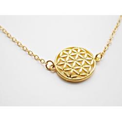 Mandala Symbol Halskette