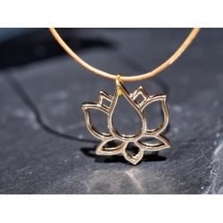 Zarte Lotus Halskette...