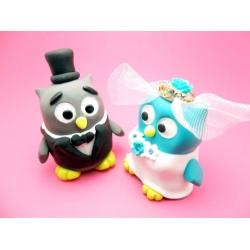 Hochzeitsfiguren Brautpaar Tortenaufsatz (500x375)
