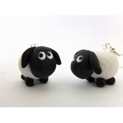 Schaf Ohrringe