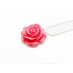 Halsketten blume pink