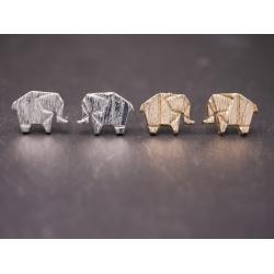 ohrstecker elefanten gold _silber
