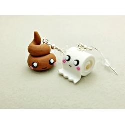 Poop Earrings Best Friends
