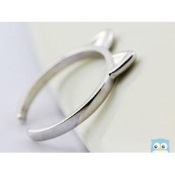 Katzenohren-ring-silber