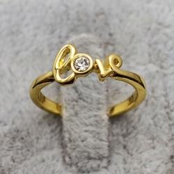 Love Ring Gold Liebe Größe...