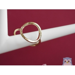 ring kreis gold