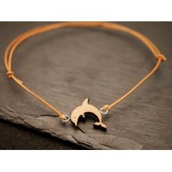 armband_ mit echt holz delfin