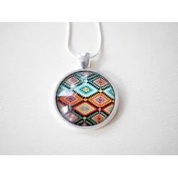 'Marokko' Cabochon Halskette