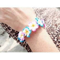 hawaii blumen armband