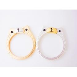 Süßer Bär Ring - silber oder gold