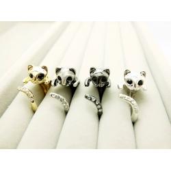 Katzen Ring 4 Farber