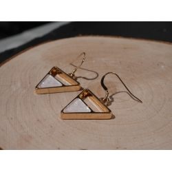 1 Paar Dreieck - Ohrhänger...