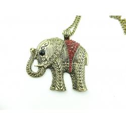 1x Elefanten Kette Vintage