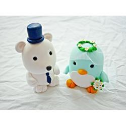 Pinguin + Eisbär...