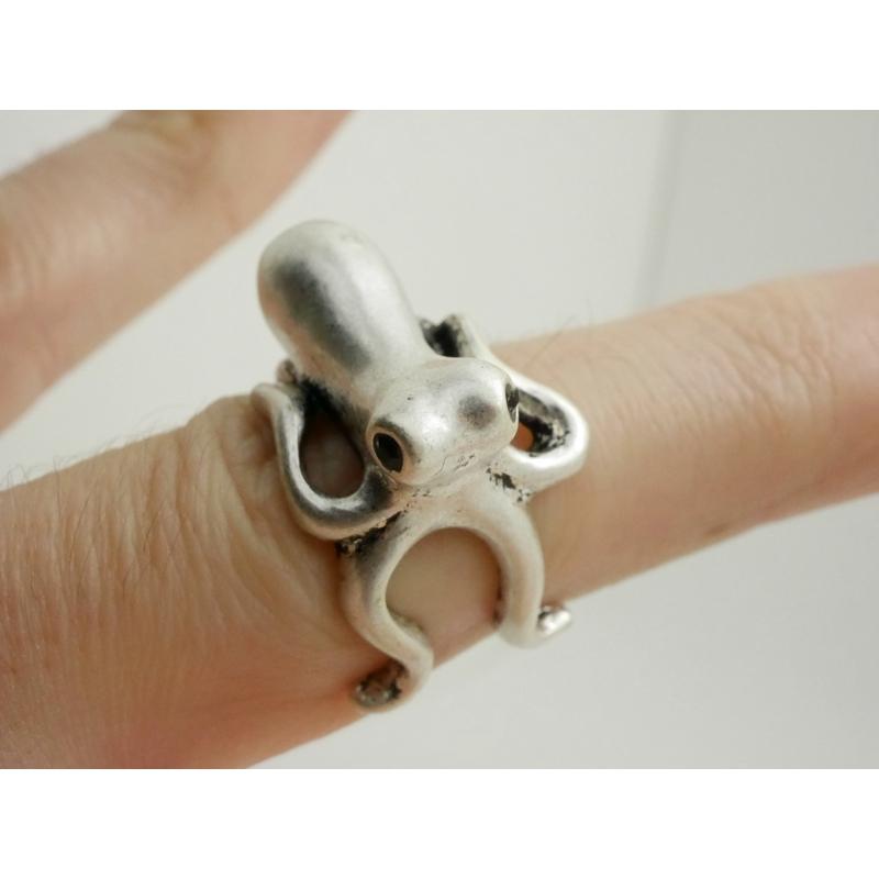 Ring-Tintenfisch-Silber