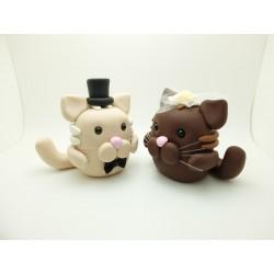 Katzen Tortenfiguren