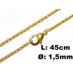 45mm filigrane Erbsketten...