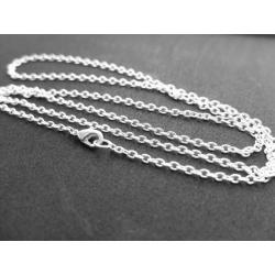 5x 925er Silber Halsketten...