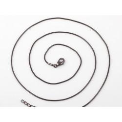 65cm Schlangenketten schwarz