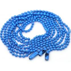 blaue 70cm Kugelketten mit...