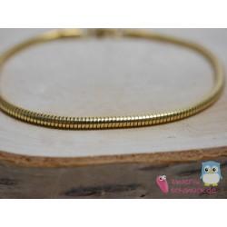 Edelstahl Armband vergoldet...