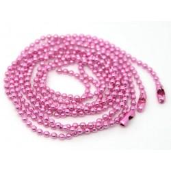 rosa 70cm Kugelketten mit...
