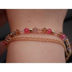 Elegantes Armband in Gold...