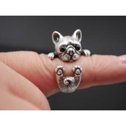 Französische Bulldogge Ring...