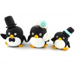 Pinguine Tortenschmuck