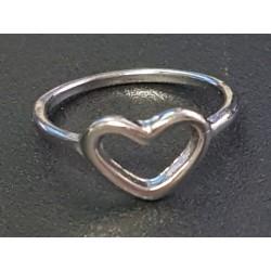 Herz Ring Silber