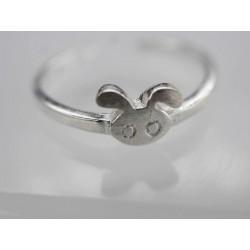Silber Hasen Ringe