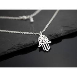 Halskette mit Hamsa Hand -...