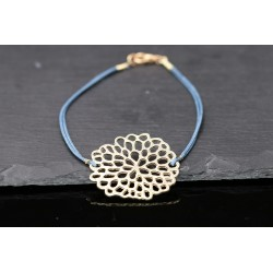 Armband mit Blumen Symbol -...