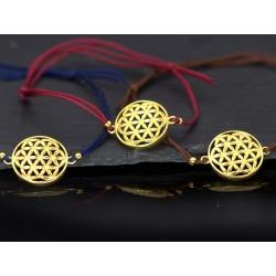 Mandala Armband - gold