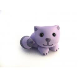 Katzen Ring aus Fimo...
