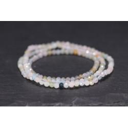 Elegantes Naturstein Perlen Armband
