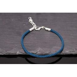 Kordel Armband - türkis silber