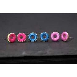 Donut Ohrringe - 3 Farben...
