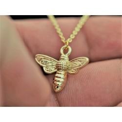 Halskette mit Biene...