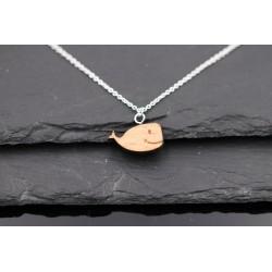 Halskette mit Holz Wal