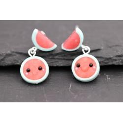 Wassermelone Ohrstecker /...
