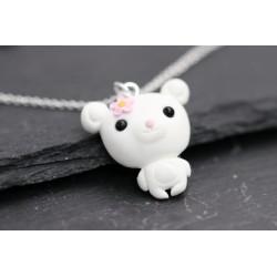 Süße Bären Silberkette -...