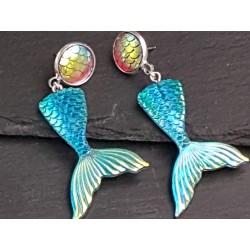 Meerjungfrauen Ohrringe...
