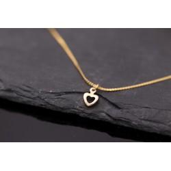 Halskette mit mini Herz...