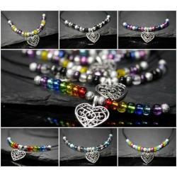 Pride Halskette - Love is Love
