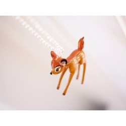 Rehkitz Halskette Bambi Anhänger Charm