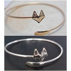 Armreif - Fuchs - gold oder silber