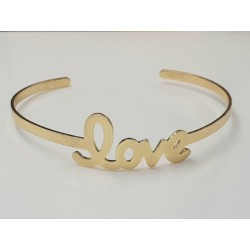 "Armreif "" love "" gold -..."