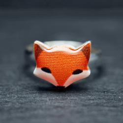 Motiv Ring: Fuchs Tierschmuck - Ringe Ausgefallene