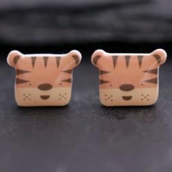 Süße Tiger Ohrringe Schmuck